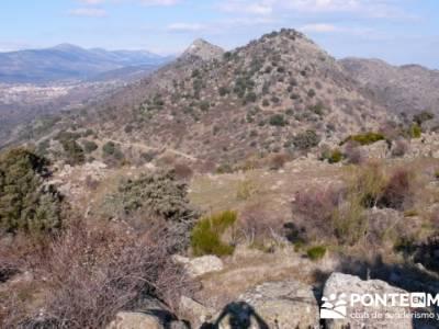 La sierra Oeste de Madrid. Puerto de la Cruz Verde, Robledo de Chavela, ermita de Navahonda. fuertev